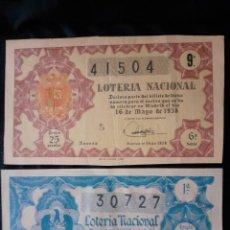 Lotería Nacional: LOTERIA. Lote 222435911