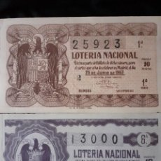 Lotería Nacional: LOTERIA. Lote 222436200