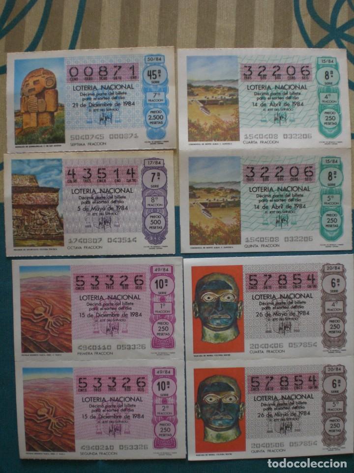 Lotería Nacional: 27 DECIMOS DE LOTERIA NACIONAL AÑO 1984 - Foto 2 - 222654303