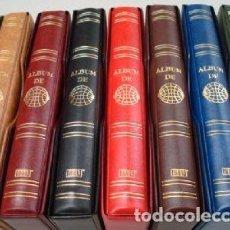 Lotería Nacional: 3 ÁLBUMES LOTERIA 27X33 CM. 4 ANILLAS STANDARD. Lote 222779263