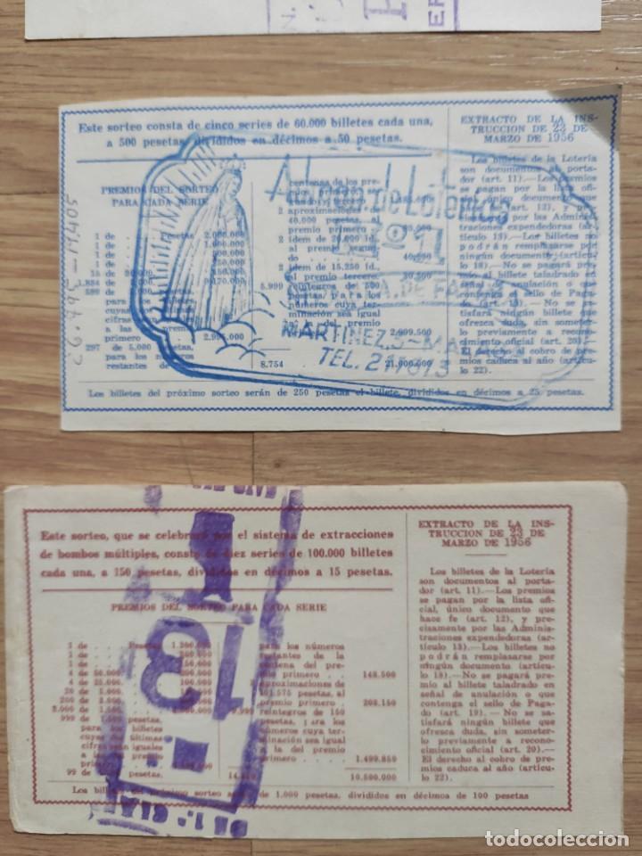 Lotería Nacional: 9 DECIMOS DE DIFERENTES MESES Y ADMINISTRACIÓN DE LOTERIA 1964 - Foto 11 - 224333963