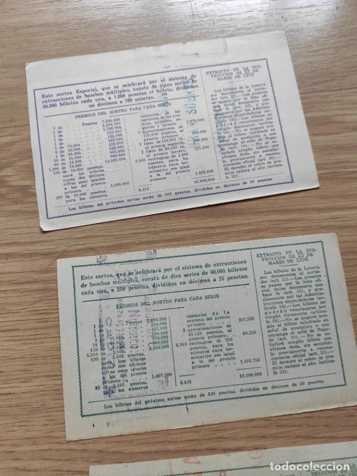 Lotería Nacional: 9 DECIMOS DE DIFERENTES MESES Y ADMINISTRACIÓN DE LOTERIA 1964 - Foto 12 - 224333963