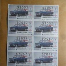 Lotaria Nacional: BILLETE COMPLETO - Nº 57057 - JUEVES 3 SEPTIEMBRE 2020 - 47/20 - CLASICOS HISTORICOS. SEAT 1430, A. Lote 227005235
