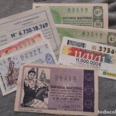 Lotería Nacional: LOTE LOTERIA NACIONAL Y ONCE, 11.11.11.. Lote 234327830