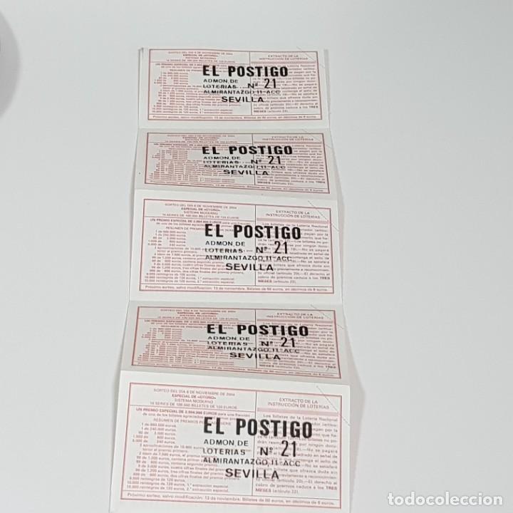 Lotería Nacional: LOTERÍA MEDIO BILLETE, SORTEO 90/04, 6 NOVIEMBRE 2004, AGRUPACIÓ MUSICAL SENIENCA,TARRAGONA,Nº 21219 - Foto 2 - 234896565