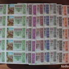 Lotería Nacional: COLECCION LOTERIA NACIONAL COMPLETA DE 1979, EN PLIEGOS DE 10 DECIMOS SON UN TOTAL DE 500 DECIMOS. Lote 235196700
