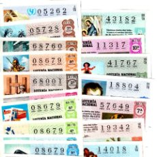 Lotería Nacional: LOTERIA NACIONAL - LOTE DE MÁS DE 100 DÉCIMOS. Lote 235484215