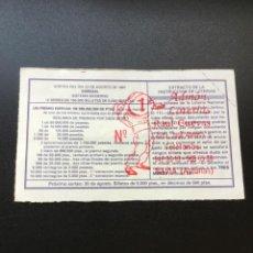 Lotería Nacional: DECIMO LOTERÍA 1997 SORTEO 68/97 ADMINISTRACION NAVIA (ASTURIAS) 1. Lote 235946675