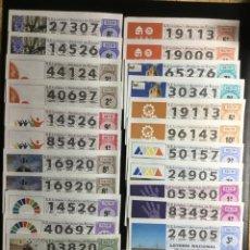 Lotería Nacional: DECIMO LOTERÍA 2019 (24 DECIMOS) LOTE 76. Lote 236791070