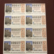 Lotería Nacional: LOTERIA AÑO 2020 SORTEO 22 BILLETE COMPLETO. Lote 237258870