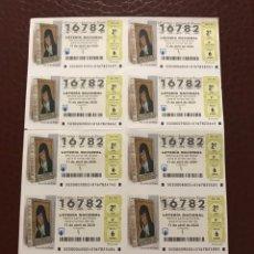 Lotería Nacional: LOTERIA AÑO 2020 SORTEO 30 BILLETE COMPLETO. Lote 237261215
