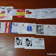 Lotería Nacional: LOTE VARIAS PAPELETAS LOTERIA FALANGE Y ORGANIZACIONES PATRIOTAS. REF. UR EST. Lote 240424145