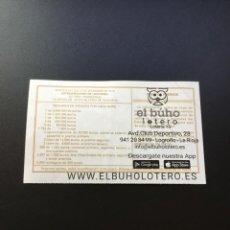 Loterie Nationale: DECIMO LOTERÍA 2019 SORTEO 102/19 ADMINISTRACION LOGROÑO (LA RIOJA) 15. Lote 241200495