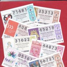 Lotteria Nationale Spagnola: LOTERIA AÑO COMPLETO 2019 SABADOS 51 DECIMOS. Lote 242914150