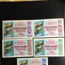 Lotería Nacional: DECIMO LOTERÍA 1968 SORTEO 16/68 CRUZ ROJA (TODAS LAS SERIES) 5. Lote 243910550