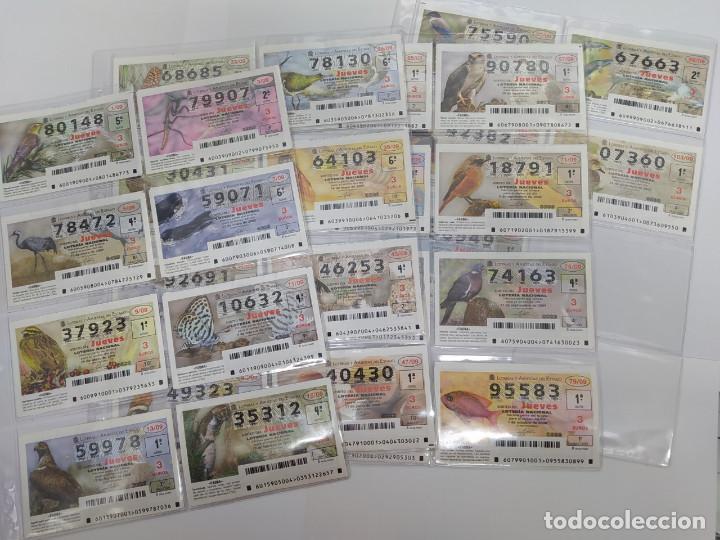LOTERIA NACIONAL DEL JUEVES DEL AÑO 2009 - COMPLETO - 53 DECIMOS (Coleccionismo - Lotería Nacional)