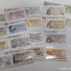 Lotería Nacional: LOTERIA NACIONAL DEL JUEVES DEL AÑO 2009 - COMPLETO - 53 DECIMOS. Lote 244474350