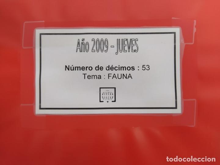 Lotería Nacional: LOTERIA NACIONAL DEL JUEVES DEL AÑO 2009 - COMPLETO - 53 DECIMOS - Foto 2 - 244474350