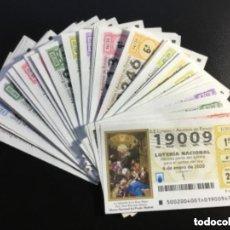 Lotería Nacional: LOTERIA NACIONAL 2020 SORTEO SÁBADOS COMPLETO - TODOS LOS SORTEOS EMITIDOS. Lote 244503805