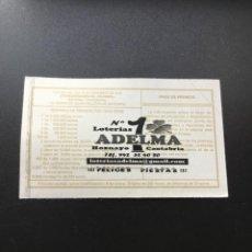 Lotería Nacional: DECIMO LOTERÍA 2019 SORTEO 102/19 ADMINISTRACION HOZNAYO (CANTABRIA) 1. Lote 244635435