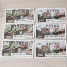 Lotteria Nationale Spagnola: LOTERÍA NACIONAL, JUEVES, SORTEO 9/21 Y 11/21, 3 DÉCIMOS DE CADA SORTEO, RESERVADO T*****5. Lote 244675220