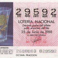 Lotería Nacional: DECIMO CAPICUA EL DE LA FOTO. Lote 245109900