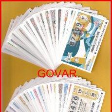 Lotaria Nacional: AÑO 2020 LOTERIA NACIONAL DE LOS JUEVES Y SABADOS, TODOS LOS DECIMOS EMITIDOS DEL AÑO. Lote 245880665