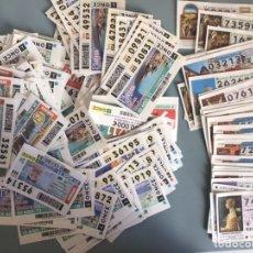 Lotería Nacional: 218 DECIMOS LOTERÍA NACIONAL Y ONCE. Lote 247695380
