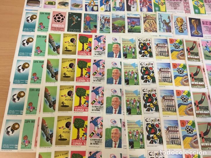 Lotería Nacional: LOTE DE 44 HOJAS DE DÉCIMOS DE LA LOTERÍA NACIONAL 1982 - TODAS DEL MUNDIAL DE FÚTBOL ESPAÑA 82 - Foto 4 - 248816090
