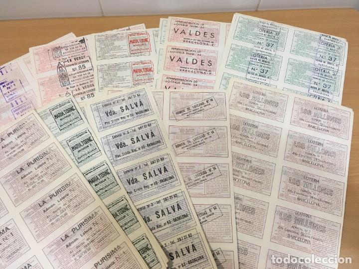 Lotería Nacional: LOTE DE 44 HOJAS DE DÉCIMOS DE LA LOTERÍA NACIONAL 1982 - TODAS DEL MUNDIAL DE FÚTBOL ESPAÑA 82 - Foto 7 - 248816090
