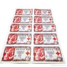 Lotería Nacional: NÚMERO COMPLETO DE LOTERÍA NACIONAL. 36393. SORTEO Nº28 5 DE OCTUBRE DE 1957. DOÑA MANOLITA. MADRID.. Lote 253096230