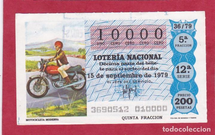 LOTERIA NUMERO EXACTO 10000 (Coleccionismo - Lotería Nacional)