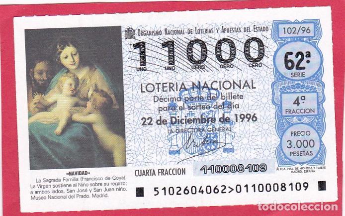 LOTERIA NUMERO EXACTO 11000 (Coleccionismo - Lotería Nacional)