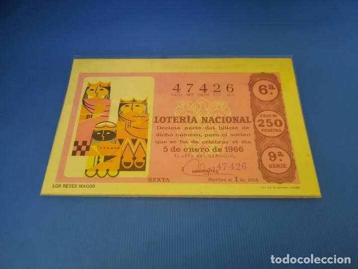 Lotería Nacional: Loteria 1966 año completo - Foto 2 - 253543205