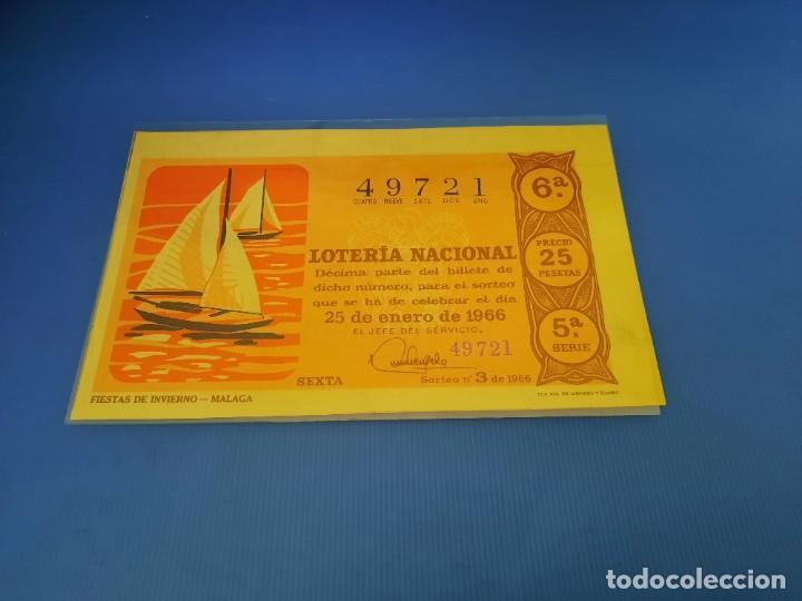 Lotería Nacional: Loteria 1966 año completo - Foto 6 - 253543205