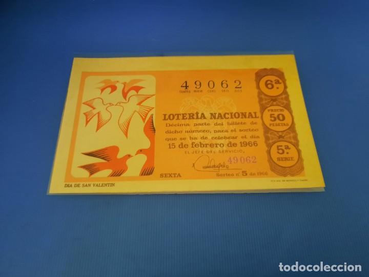 Lotería Nacional: Loteria 1966 año completo - Foto 10 - 253543205