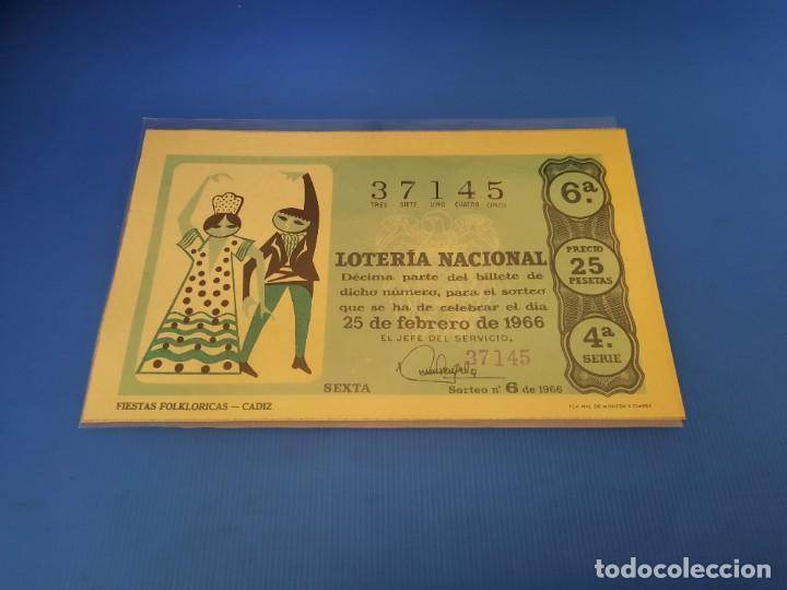 Lotería Nacional: Loteria 1966 año completo - Foto 12 - 253543205