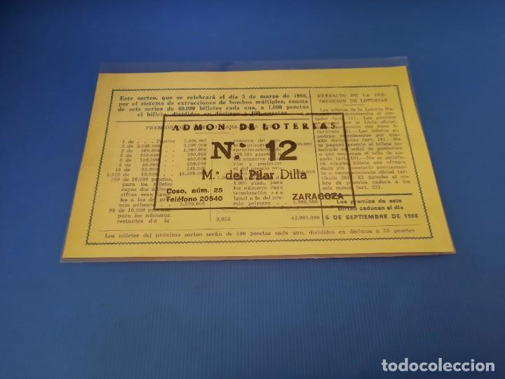 Lotería Nacional: Loteria 1966 año completo - Foto 15 - 253543205