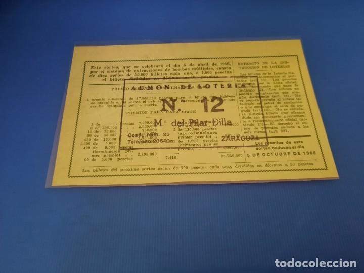 Lotería Nacional: Loteria 1966 año completo - Foto 21 - 253543205
