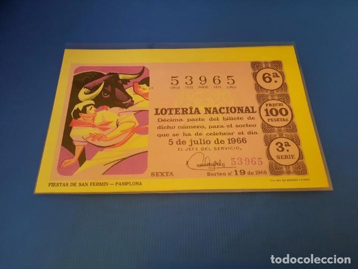 Lotería Nacional: Loteria 1966 año completo - Foto 38 - 253543205
