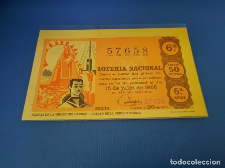 Lotería Nacional: Loteria 1966 año completo - Foto 40 - 253543205
