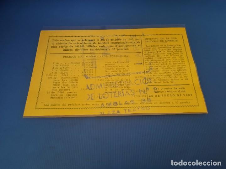 Lotería Nacional: Loteria 1966 año completo - Foto 43 - 253543205