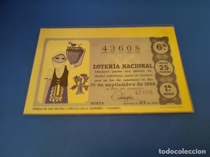 Lotería Nacional: Loteria 1966 año completo - Foto 54 - 253543205