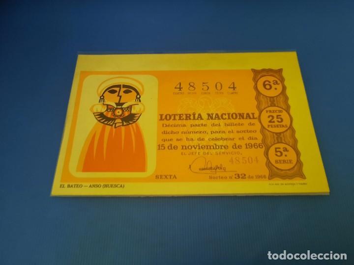 Lotería Nacional: Loteria 1966 año completo - Foto 64 - 253543205