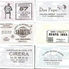 Lotería Nacional: LOTERÍAS COLECCIÓN SUS MARCAS. Lote 254070285