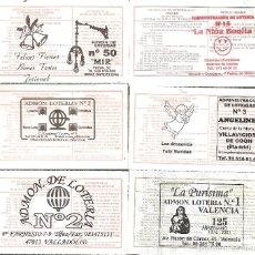 Lotería Nacional: LOTERÍAS COLECCIÓN SUS MARCAS. Lote 254070700