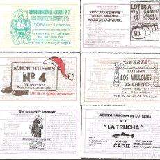 Lotería Nacional: LOTERÍAS COLECCIÓN SUS MARCAS. Lote 254071155