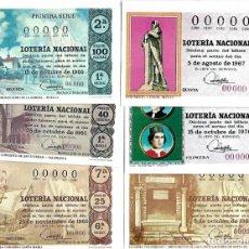 Lotería Nacional: LOTE DE 11 POSTALES DE DE LOTERIA NACIONAL. Lote 254220615