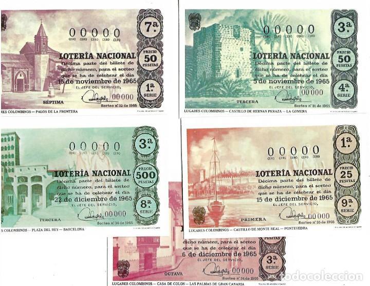 Lotería Nacional: LOTE DE 11 POSTALES DE DE LOTERIA NACIONAL - Foto 2 - 254220615
