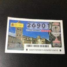 Lotería Nacional: DECIMO LOTERÍA 2021 SORTEO 25/21. Lote 254626830